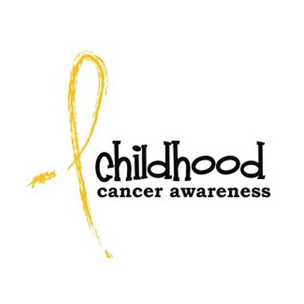 Childhood Caner Awareness Yellow Ribbon
