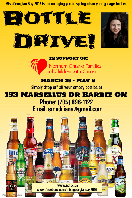 Bottle Drive- Barrie
