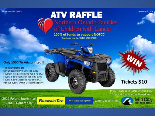 ATV Raffle
