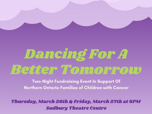 Dancing for a Better Tomorrow