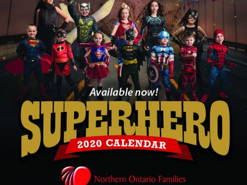 2020 Superhero Calendar