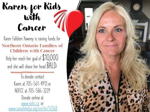 Karen for Kids with Cancer